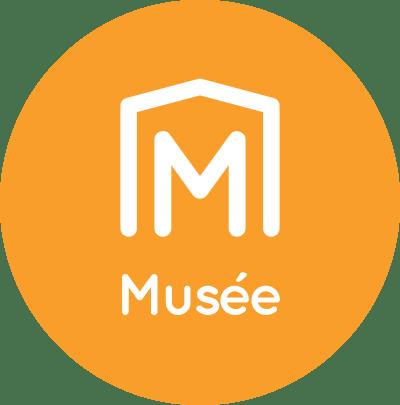pastille ronde logo musée